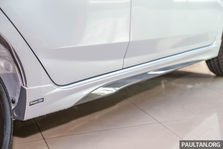 2017 Perodua Axia facelift in showrooms, from RM25k Image #604783