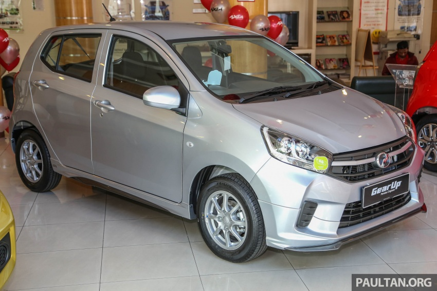 2017 Perodua Axia facelift in showrooms, from RM25k Image #604765