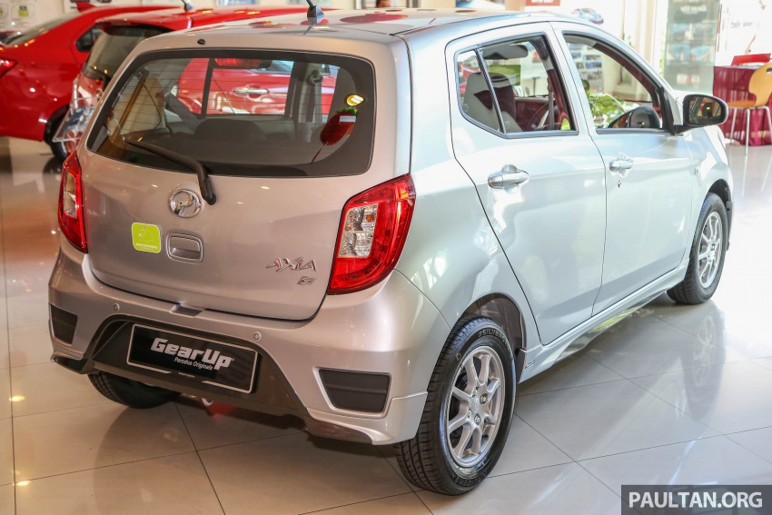 2017 Perodua Axia facelift in showrooms, from RM25k Image #604766