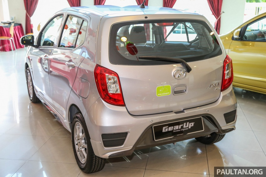2017 Perodua Axia facelift in showrooms, from RM25k Image #604767