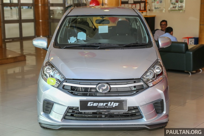 2017 Perodua Axia facelift in showrooms, from RM25k Image #604769