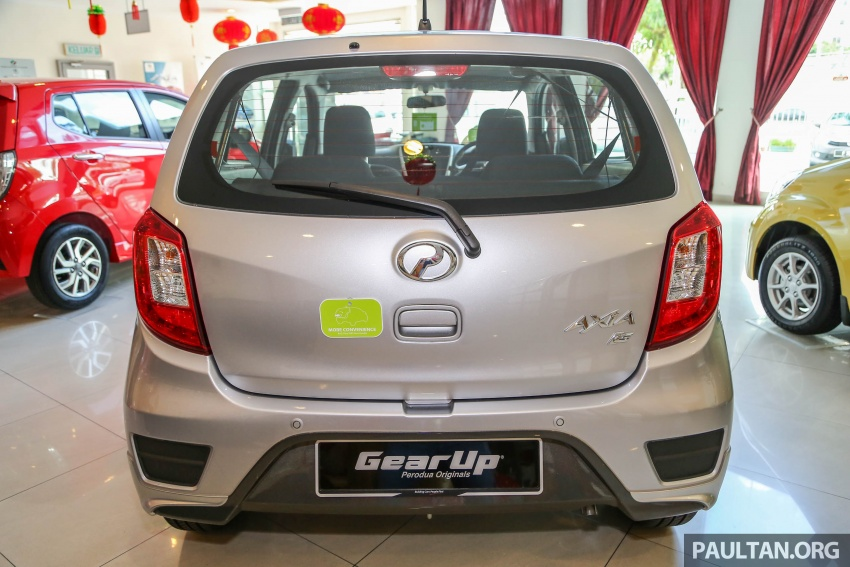 2017 Perodua Axia facelift in showrooms, from RM25k Image #604770