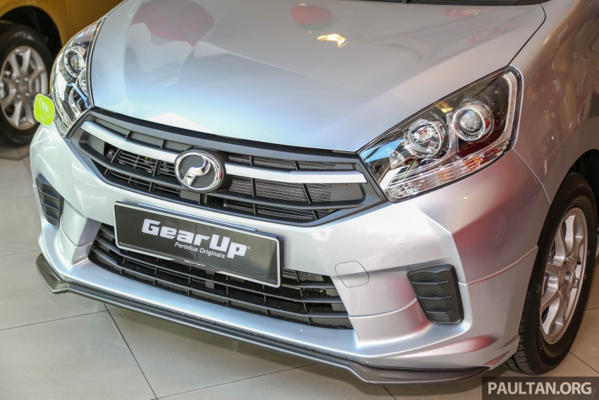 2017 Perodua Axia facelift in showrooms, from RM25k Image #604772
