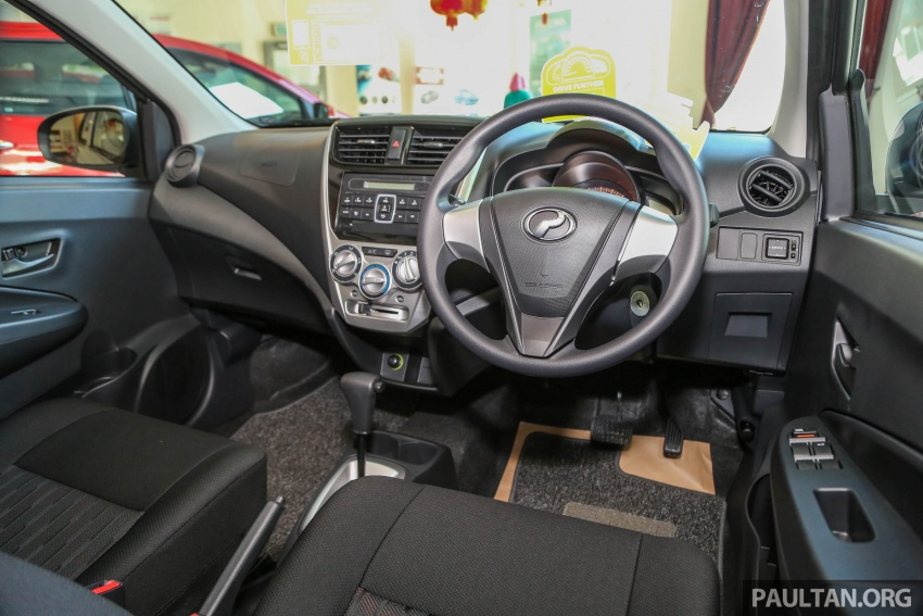 2017 Perodua Axia facelift in showrooms, from RM25k Image #604806