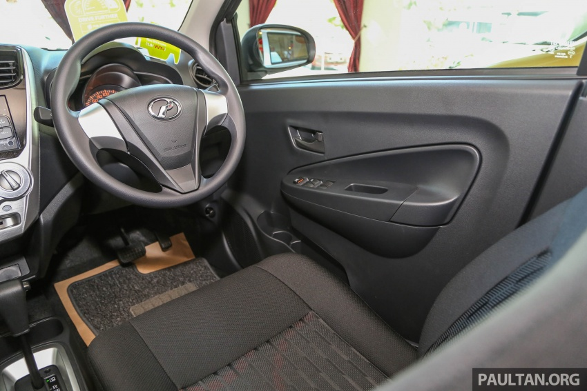 2017 Perodua Axia facelift in showrooms, from RM25k Image #604809