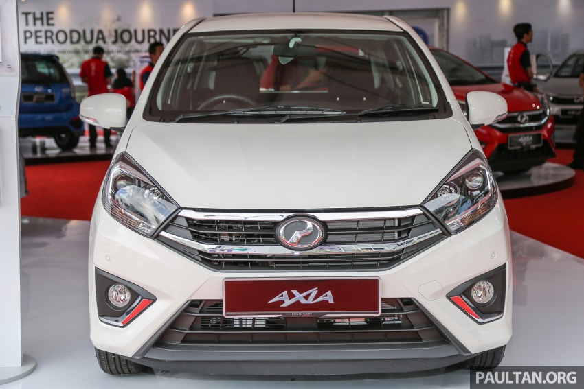 2017 Perodua Axia facelift officially launched – 1.0L VVT-i engine, two new faces and features, from RM25k Image #606726