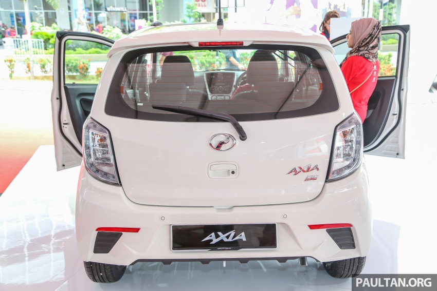 2017 Perodua Axia facelift officially launched – 1.0L VVT-i engine, two new faces and features, from RM25k Image #606727