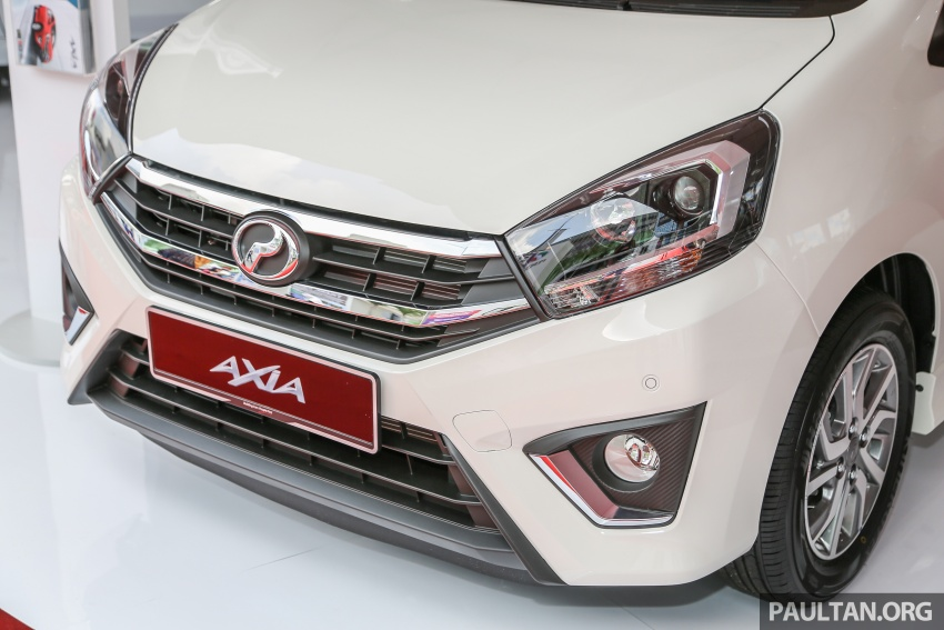 2017 Perodua Axia facelift officially launched – 1.0L VVT-i engine, two new faces and features, from RM25k Image #606729
