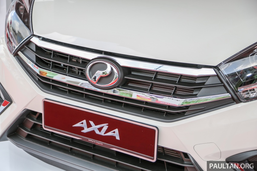 2017 Perodua Axia facelift officially launched – 1.0L VVT-i engine, two new faces and features, from RM25k Image #606731