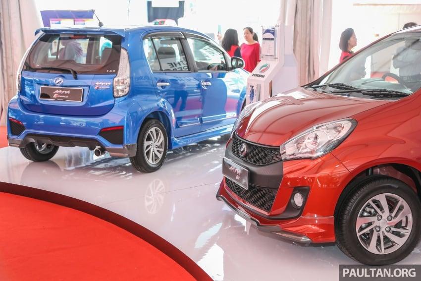 Perodua Myvi Advance, SE terima kit GearUp standard Image #606819