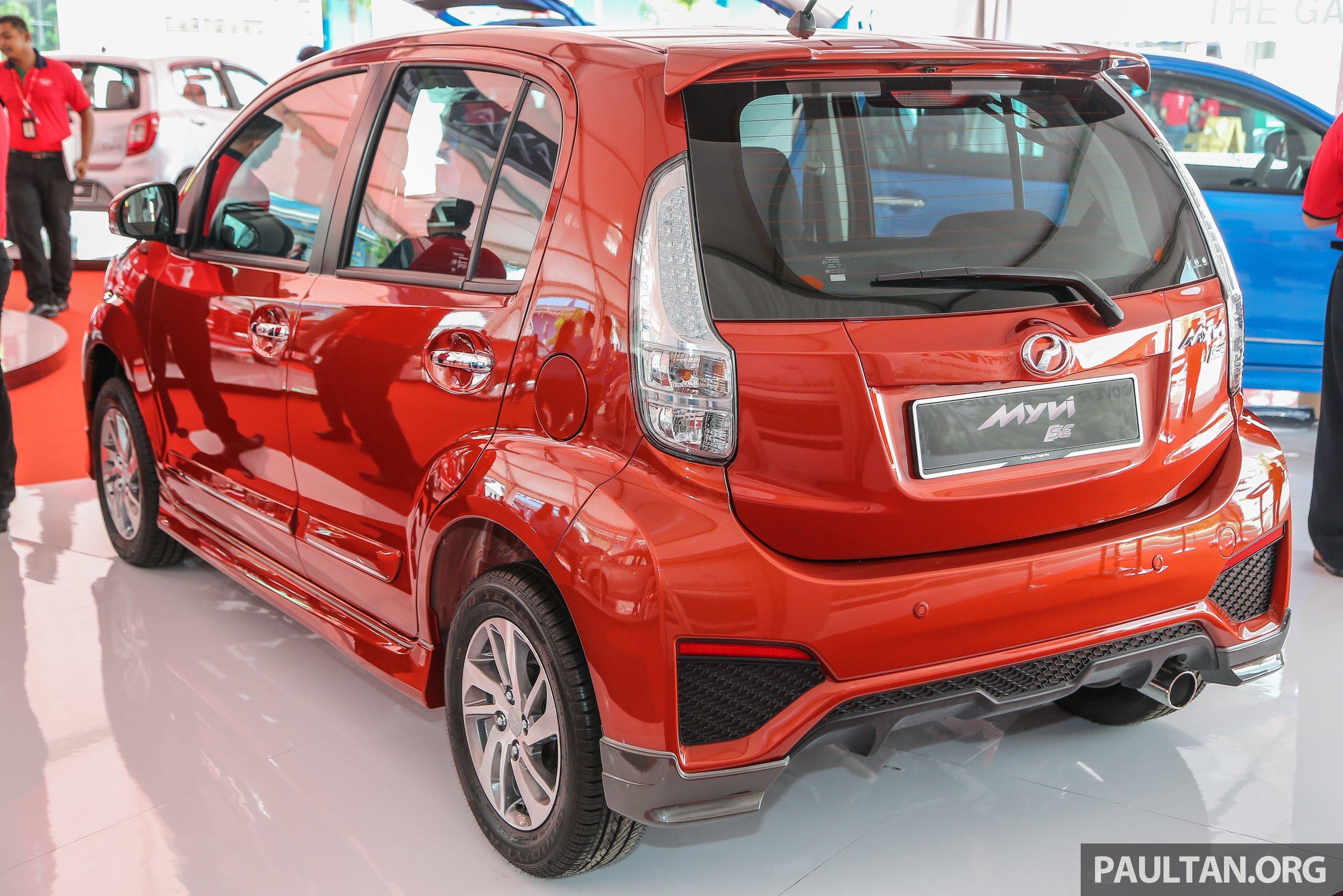 Myvi Se 1.5 >> Perodua Myvi 1.5 SE, Advance get standard GearUp kit Image 606840