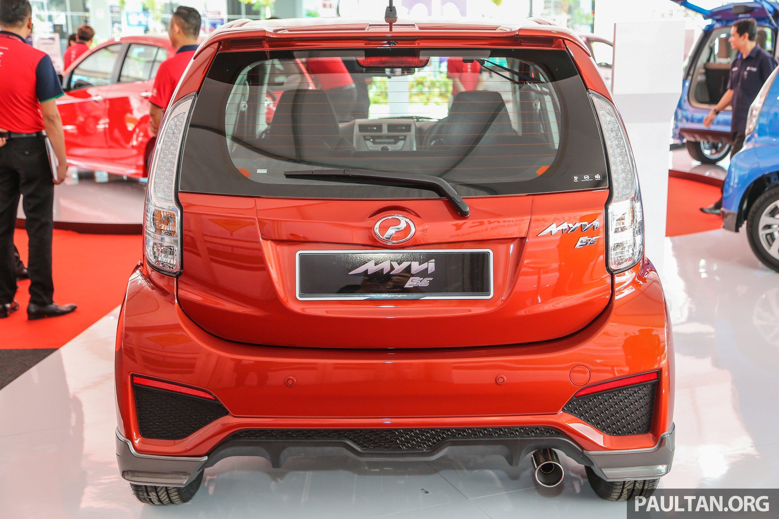 Myvi Se 1.5 >> Perodua Myvi 1.5 SE, Advance get standard GearUp kit Paul Tan - Image 606842