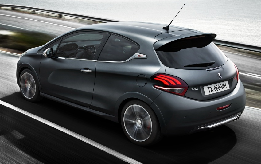 Peugeot 208 GTi to return to M'sia in facelifted form Image #602111
