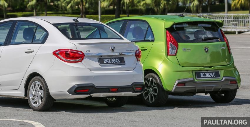 GALLERY: Proton Persona v Iriz – sedan-hatch sisters Image #608153