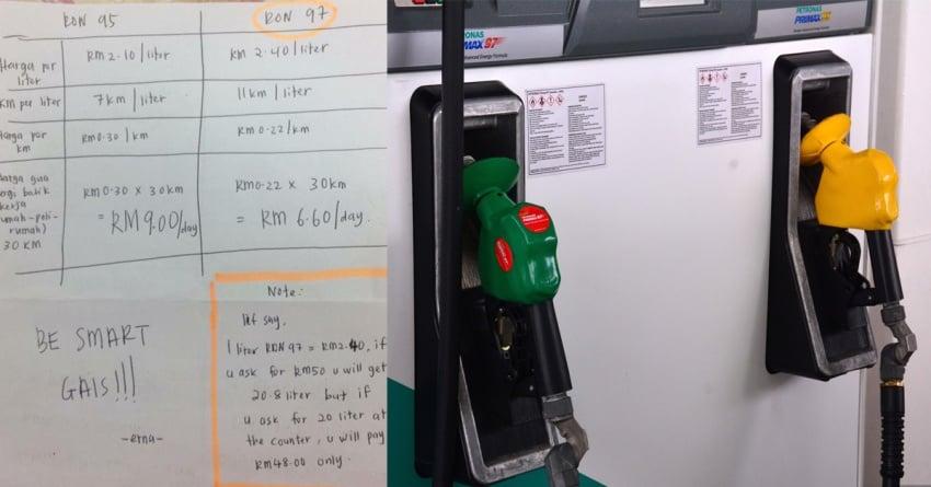 Ujian RON 95 VS RON 97: Mana yang jadi pilihan? Image #600447