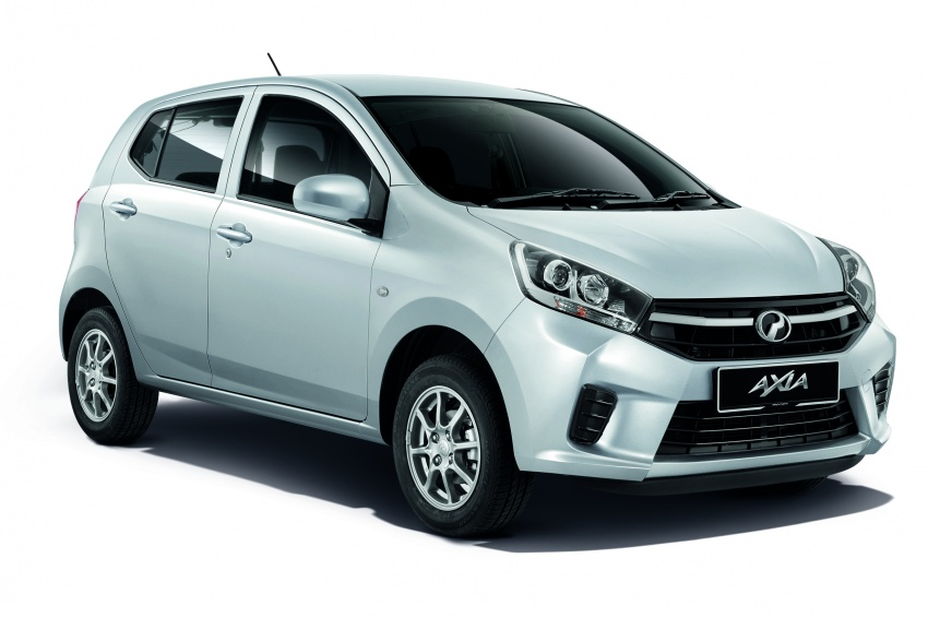 2017 Perodua Axia facelift officially launched – 1.0L VVT-i engine, two new faces and features, from RM25k Image #606712