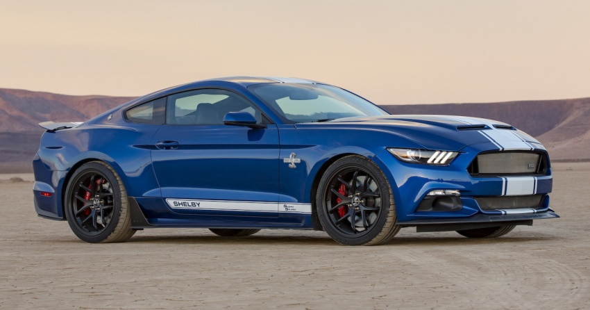 Shelby Mustang 50th Anniversary Super Snake – only 500 units; 750 hp; 0 to 96 km/h in just 3.5 seconds Image #606613