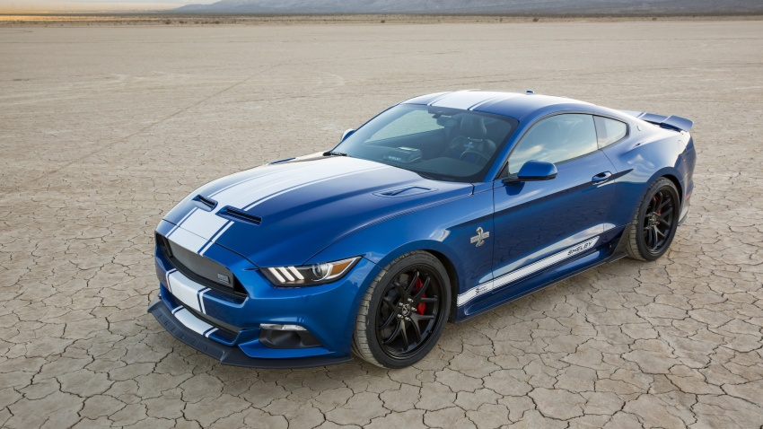 Shelby Mustang 50th Anniversary Super Snake – only 500 units; 750 hp; 0 to 96 km/h in just 3.5 seconds Image #606622