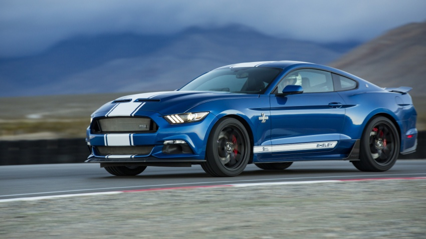 Shelby Mustang 50th Anniversary Super Snake – only 500 units; 750 hp; 0 to 96 km/h in just 3.5 seconds Image #606629
