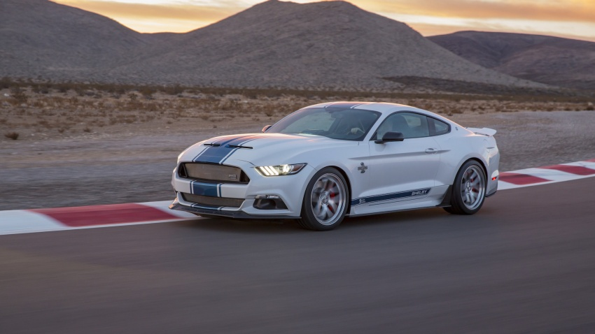 Shelby Mustang 50th Anniversary Super Snake – only 500 units; 750 hp; 0 to 96 km/h in just 3.5 seconds Image #606631