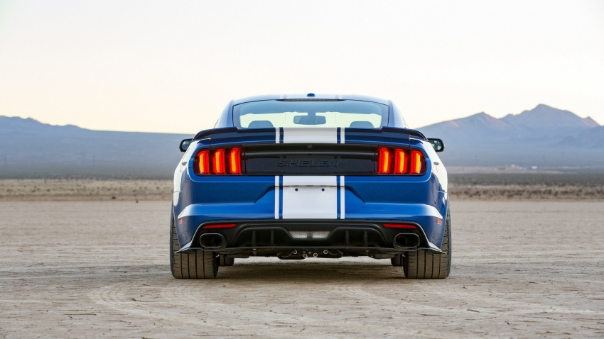 Shelby Mustang 50th Anniversary Super Snake – only 500 units; 750 hp; 0 to 96 km/h in just 3.5 seconds Image #606617