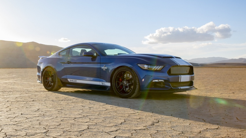 Shelby Mustang 50th Anniversary Super Snake – only 500 units; 750 hp; 0 to 96 km/h in just 3.5 seconds Image #606619