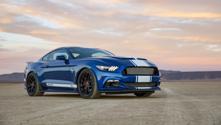 Shelby Mustang 50th Anniversary Super Snake – only 500 units; 750 hp; 0 to 96 km/h in just 3.5 seconds Image #606621