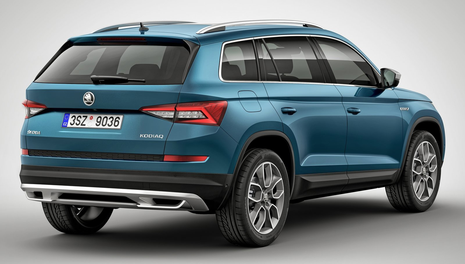 skoda kodiaq scout 7 seat suv gets a rugged outfit image 608947. Black Bedroom Furniture Sets. Home Design Ideas
