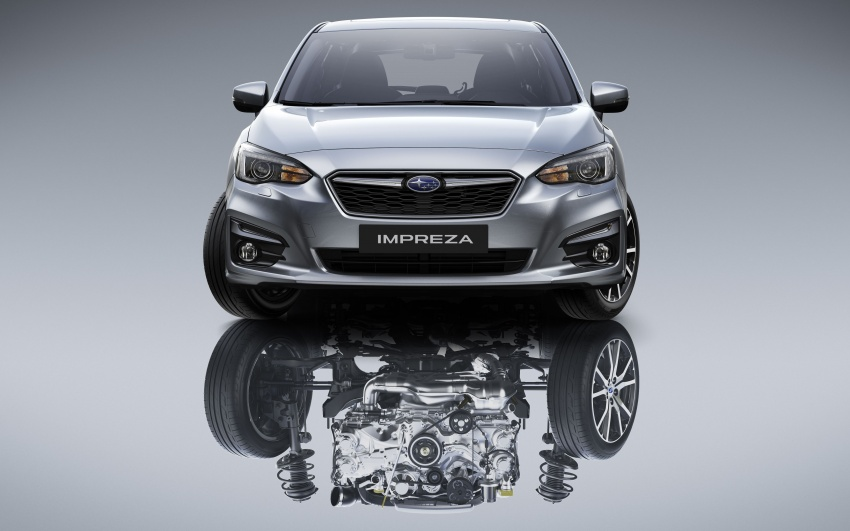 2017 Subaru Impreza launched in Singapore – sedan and hatchback; NA 1.6L and 2.0L CVT with AWD Image #602186