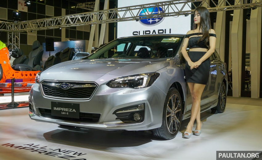 2017 Subaru Impreza launched in Singapore – sedan and hatchback; NA 1.6L and 2.0L CVT with AWD Image #602920