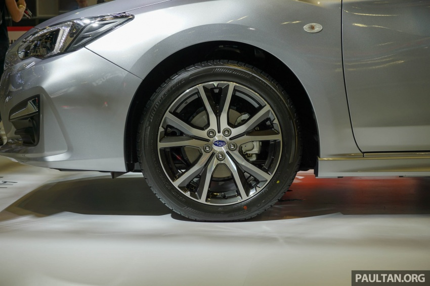 2017 Subaru Impreza launched in Singapore – sedan and hatchback; NA 1.6L and 2.0L CVT with AWD Image #602929