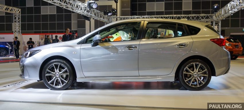 2017 Subaru Impreza launched in Singapore – sedan and hatchback; NA 1.6L and 2.0L CVT with AWD Image #602931