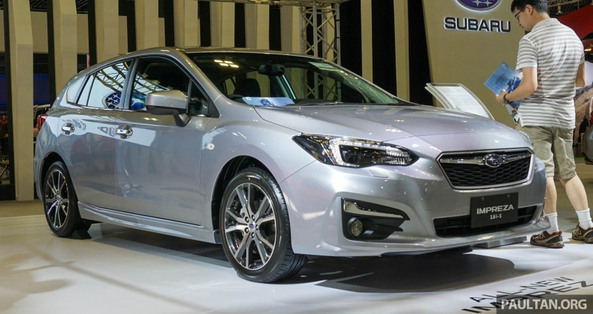 2017 Subaru Impreza launched in Singapore – sedan and hatchback; NA 1.6L and 2.0L CVT with AWD Image #602921