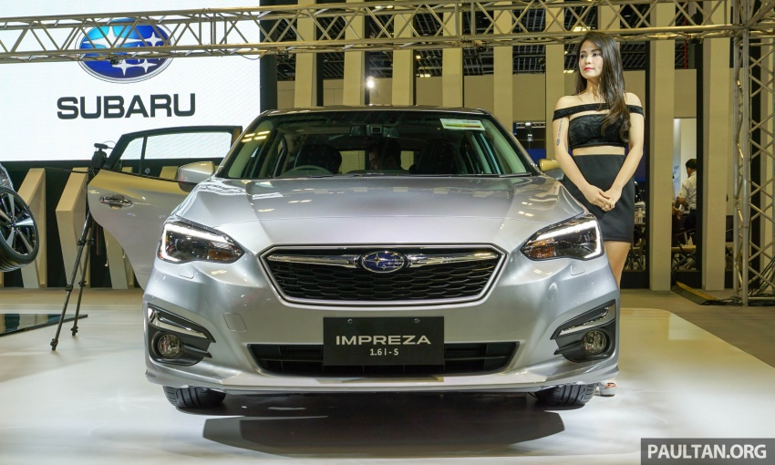 2017 Subaru Impreza launched in Singapore – sedan and hatchback; NA 1.6L and 2.0L CVT with AWD Image #602922