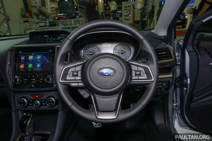 2017 Subaru Impreza launched in Singapore – sedan and hatchback; NA 1.6L and 2.0L CVT with AWD Image #602952