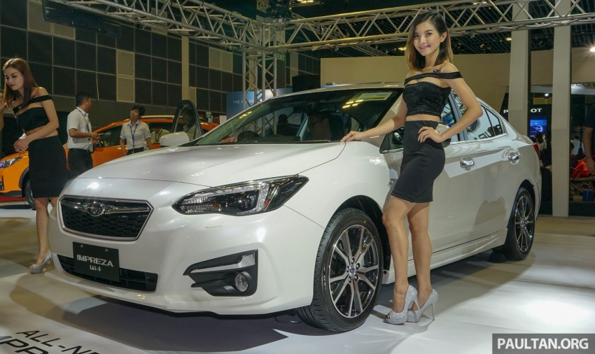 2017 Subaru Impreza launched in Singapore – sedan and hatchback; NA 1.6L and 2.0L CVT with AWD Image #602961