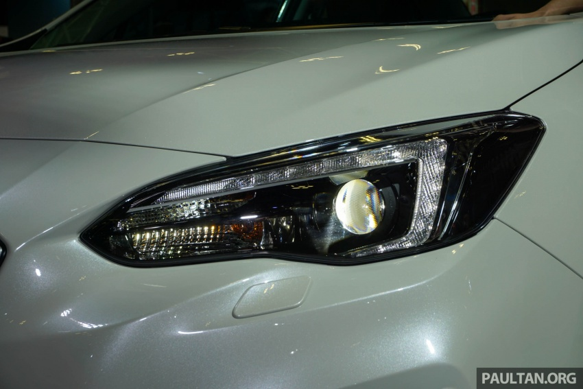 2017 Subaru Impreza launched in Singapore – sedan and hatchback; NA 1.6L and 2.0L CVT with AWD Image #602964
