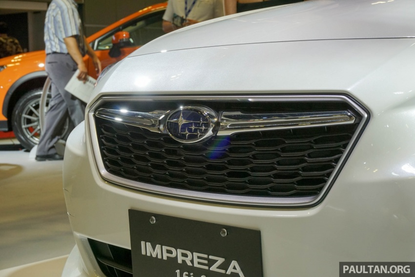 2017 Subaru Impreza launched in Singapore – sedan and hatchback; NA 1.6L and 2.0L CVT with AWD Image #602966