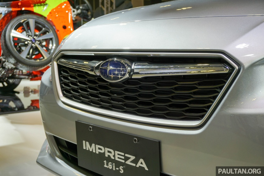 2017 Subaru Impreza launched in Singapore – sedan and hatchback; NA 1.6L and 2.0L CVT with AWD Image #602924