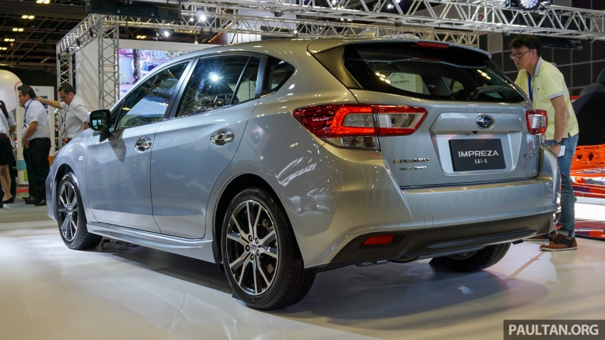 2017 Subaru Impreza launched in Singapore – sedan and hatchback; NA 1.6L and 2.0L CVT with AWD Image #602927