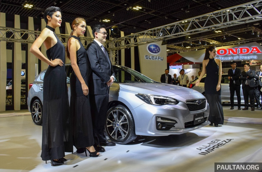 2017 Subaru Impreza launched in Singapore – sedan and hatchback; NA 1.6L and 2.0L CVT with AWD Image #602975