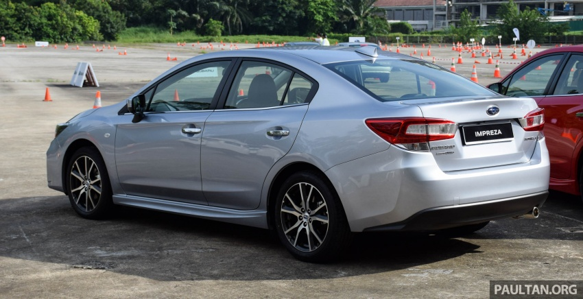 2017 Subaru Impreza launched in Singapore – sedan and hatchback; NA 1.6L and 2.0L CVT with AWD Image #602910