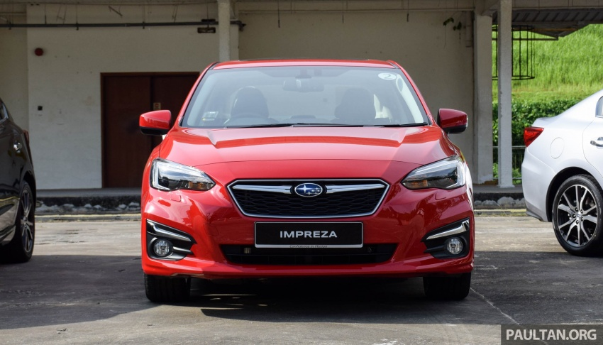 2017 Subaru Impreza launched in Singapore – sedan and hatchback; NA 1.6L and 2.0L CVT with AWD Image #602912