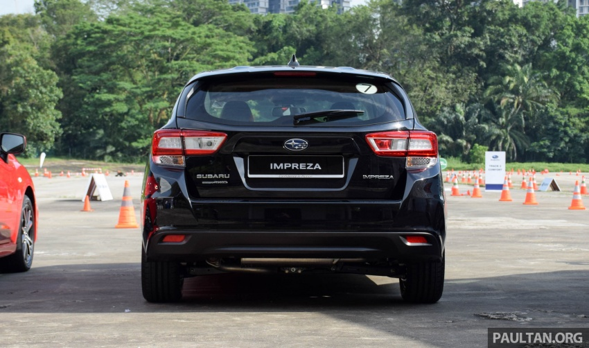 2017 Subaru Impreza launched in Singapore – sedan and hatchback; NA 1.6L and 2.0L CVT with AWD Image #602914