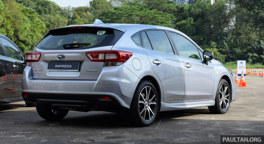 2017 Subaru Impreza launched in Singapore – sedan and hatchback; NA 1.6L and 2.0L CVT with AWD Image #602905