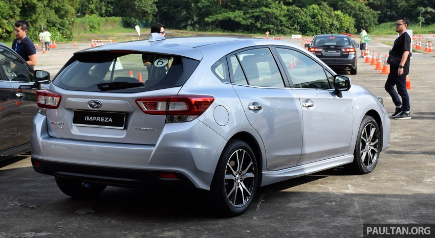 2017 Subaru Impreza launched in Singapore – sedan and hatchback; NA 1.6L and 2.0L CVT with AWD Image #602906
