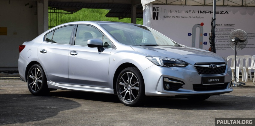 2017 Subaru Impreza launched in Singapore – sedan and hatchback; NA 1.6L and 2.0L CVT with AWD Image #602907
