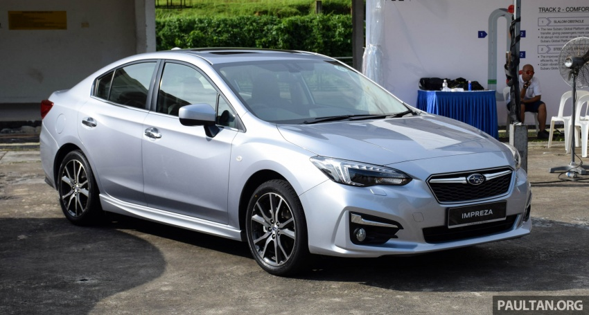 2017 Subaru Impreza launched in Singapore – sedan and hatchback; NA 1.6L and 2.0L CVT with AWD Image #602908