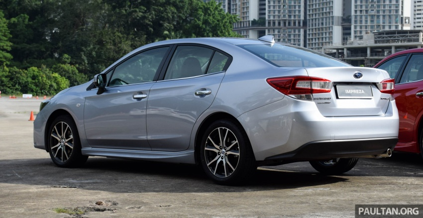 2017 Subaru Impreza launched in Singapore – sedan and hatchback; NA 1.6L and 2.0L CVT with AWD Image #602909