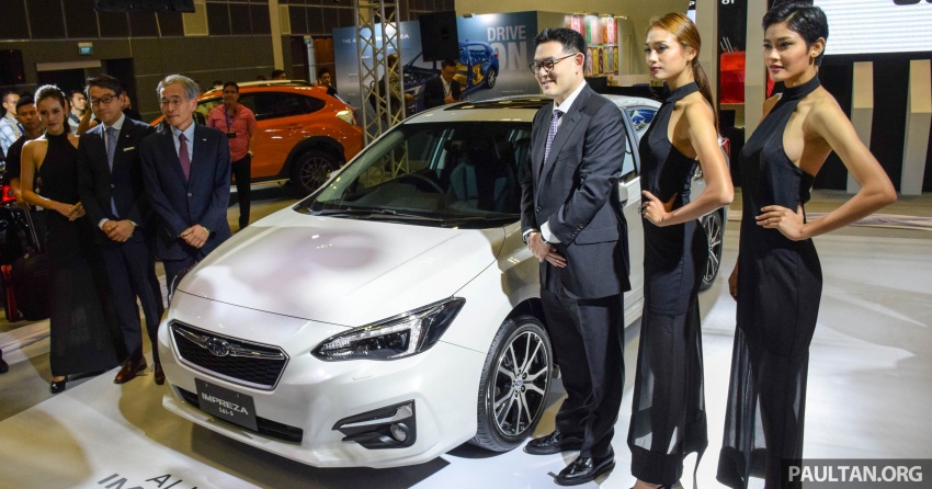 2017 Subaru Impreza launched in Singapore – sedan and hatchback; NA 1.6L and 2.0L CVT with AWD Image #602376